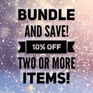 NEW: Bundle 2+ and save 10%!